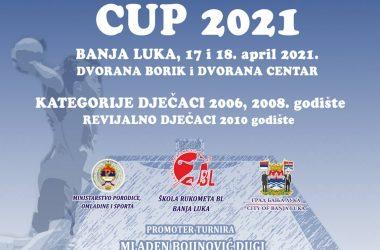 "5. TURNIR U RUKOMETU ""BANJALUKA CUP 2020"""