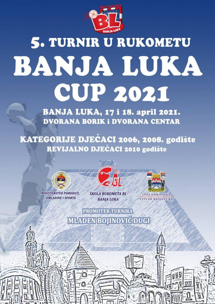 Peti turnir u rukometu Banjaluka Cup 2021
